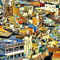 Santorini by Onie Dimaano