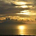 Santorini. Sunlight by Thiras art