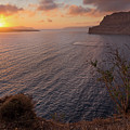 Santorini Sunset Caldera by BBrave Photo
