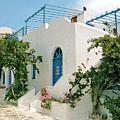 Santorini Villa by Donna Corless