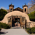 Santuario De Chimayo Adobe Chapel by Carol Milisen