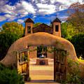 Santuario De Chimayo by Dennis Herzog
