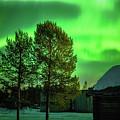 Sapmi Outdoor Museum Under The Northern Lights Karasjok Norway by Adam Rainoff