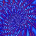 Sapphire Swirl by Regina Rodella