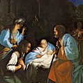 Saraceni Carlo The Birth Of Christ by PixBreak Art