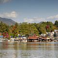 Saranac Lake by David Lee Thompson
