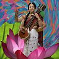 Saraswati by David Clanton