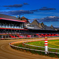 Saratoga Race Track by Don Nieman
