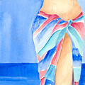 Sarong by Arline Wagner