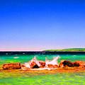 Sat Splash by Lyle Crump