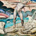 Satan Smiting Job With Sore Boils by William Blake