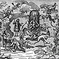 Satan With Cavorting Dancers, 18th by Science Source