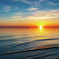 Sauble Beach Sunset 4 by Steve Harrington