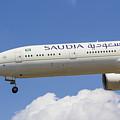 Saudi Arabian Airlines Boeing 777 by David Pyatt