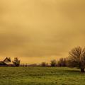 Sauvie Island Barn by Don Schwartz