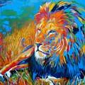 Savanna King by Angie Wright