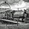 Savannah Central Steam Engine On Turn Table by Scott Hansen