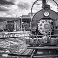 Savannah Central Train Yard by Scott Hansen