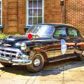 Savannah Police Car 1953 Chevrolet  by Reid Callaway