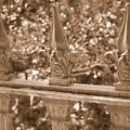Savannah Sepia - Finials by Carol Groenen