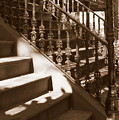 Savannah Sepia - Stairs by Carol Groenen