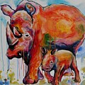 Save The Rhinos by Artwork Only
