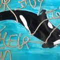 Save The Whales by Marlyn Carolina Martinez Sierra