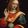 Saviour Of The World by Giovanni Pedrini Giampietrino
