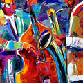 Sax And Bass by Debra Hurd