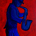 Sax Man by Alex Sowinski