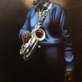 Sax Man by Jerome White