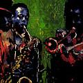 Saxophon Players. by Yuriy Shevchuk