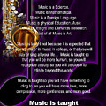 Saxophone Photograph Why Music For T-shirts Posters 4819.02 by M K Miller