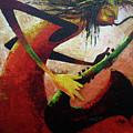 Saxophonist  by Lawani Sunday