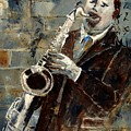 Saxplayer 570120 by Pol Ledent