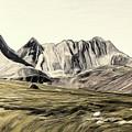 Sayan Landscape by Alex Galkin