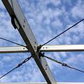 Scaffolding Sky View by Jo Hoden