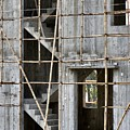 Scaffolds And Stairs by Kathy Daxon