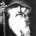 Scandinavian Mythology The Ancient God Odin by Taiche Acrylic Art