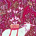 Scapegoat Healing In Fuchsia by Lise Winne