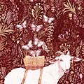 Scapegoat Healing Tapestry Print by Lise Winne