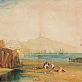 Scarborough Town And Castle by William Turner