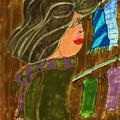 Scarf Rack by Elinor Helen Rakowski