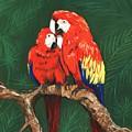 Scarlet Macaws by Anastasiya Malakhova