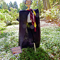 Scarry Potter Scarecrow At Cheekwood Botanical Gardens by Marian Bell