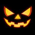 Scary Halloween Horror Pumpkin Face by Philipp Rietz