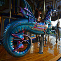 Scary Merry Go Round Boston Common Carousel by Toby McGuire