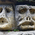 Scary Stone Heads by Michal Boubin
