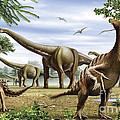 Scelidosaurus, Nothronychus by Mohamad Haghani