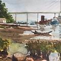 Scene Beside Inlet by Ken Bao--Fine Art Spring